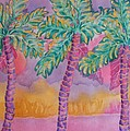 Party Palms by Rhonda Leonard