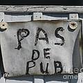 Pas De Pub by Lauren Leigh Hunter Fine Art Photography