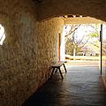 Passageway At Monticello by Karen Francis