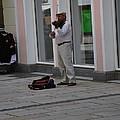 Passau Violinist by Richard Booth