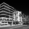 Passeig De Jaume 1 Seafront Road And Properties Salou Catalonia Spain by Joe Fox