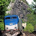 Passenger Train Locomotive by Olivier Le Queinec