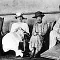 Passengers On Ship, 1912 by Granger