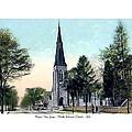 Passiac New Jersey - Norht Reformed Church - 1910 by John Madison