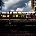 Passing Under Monroe Street Chicago by Eleanor Abramson