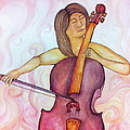 Passionate Cellist by Ashley Grebe