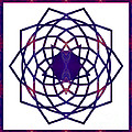 Passionate Purple Prayers Abstract Chakra Art By Omaste Witkowsk by Omaste Witkowski
