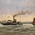 Past On The Medway by Vic Trevett