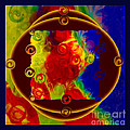 Past Present And Future Abstract Healing Art by Omaste Witkowski