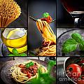 Pasta Collage by Mythja  Photography