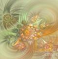 Pastel Delicate Pattern by Deborah Benoit