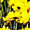 Pastel Flowers by Steve K