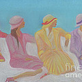 Pastel Hats By Jrr by First Star Art