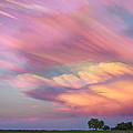 Pastel Painted Sunset Sky by James BO Insogna