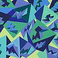 Pastel Pyramids by Sean Corcoran