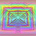 Pastel Rainbow Reverberations by Tim Allen