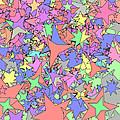 Pastel Stars by Gregory Scott