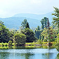 Pastoral Pond And Valley by Duane McCullough