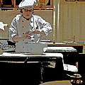 Female Austrian Pastry Chef by Norman Pogson