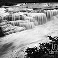 Patagonia Rio Glaciar Waterfall by Bob Christopher