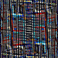Patchwork Architecture 2 by KM Corcoran