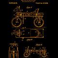 Patent Art 1920 Herzog Hobby Horse Gold by Lesa Fine