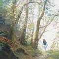 Path In The Woods by Jan Matson