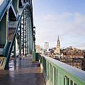 Path On Tyne Bridge by David Head