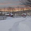 Path To The Barn by Fran J Scott