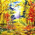 Path To The Fall by Irina Sztukowski