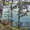 Path To The Lake by William Bukowski