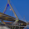 Path To The Leonard P. Zakim Bridge by Susan Candelario