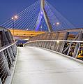 Path To The Zakim Bridge by Susan Candelario