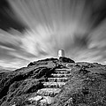 Path To Twr Mawr Lighthouse by Dave Bowman