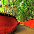 Pathway In Temple Of Marquis Wu With by Wibowo Rusli