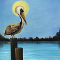 Patiently Fishing by Sheryl Unwin
