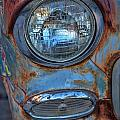 Patinaed Headlight by Peter Tellone