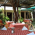 Patio Dining At The Swiss Hotel In Downtown Sonoma California 5d24439 by Wingsdomain Art and Photography