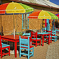 Patio Old Town Albuquerque New Mexico Dsc08203 by Greg Kluempers