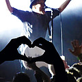 Patrick Stump Of Fall Out Boy by Lesley DeHaan