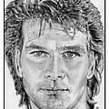 Patrick Swayze In 1989 by J McCombie