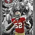 Patrick Willis 49ers by Joe Hamilton