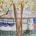 Patriotic Cottage by Elaine Duras