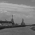 Patriots Point Panorama by Dale Powell