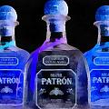 Patron Tequila Black Light by Dan Sproul