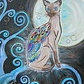 Patronus Cat by Kinga Ile