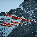 Patrouille Suisse Vll by Marta Holka