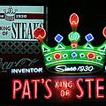 Pat's King Of Steaks by Stephen Stookey