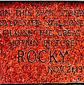 Pats Steaks - Rocky Plaque by Benjamin Yeager