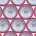 Pattern Drink Cans by Oscar Hurtado